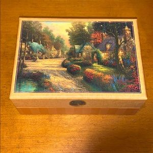 Thomas Kinkade Hallmark card box (box only)
